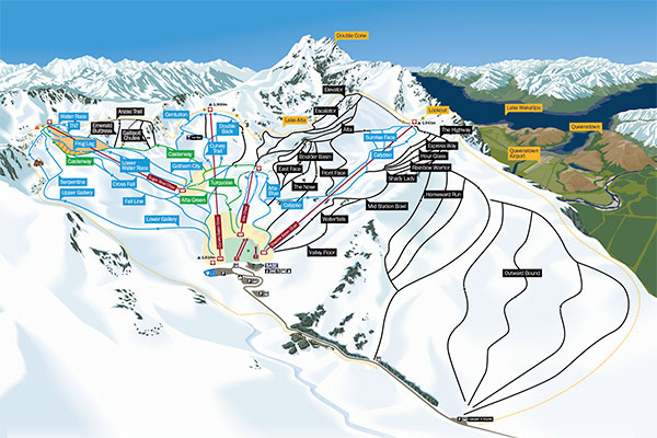 Remarkables Map